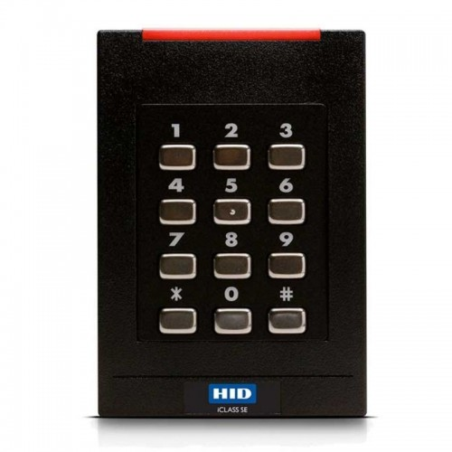 RK40 iCLASS SEOS® Profile + BLE Mobile Lector de tarjetas inteligentes sin contacto con teclado