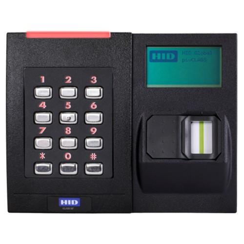 RKLB40 iCLASS SE® Lector de teclado de tarjeta inteligente sin contacto biométrico
