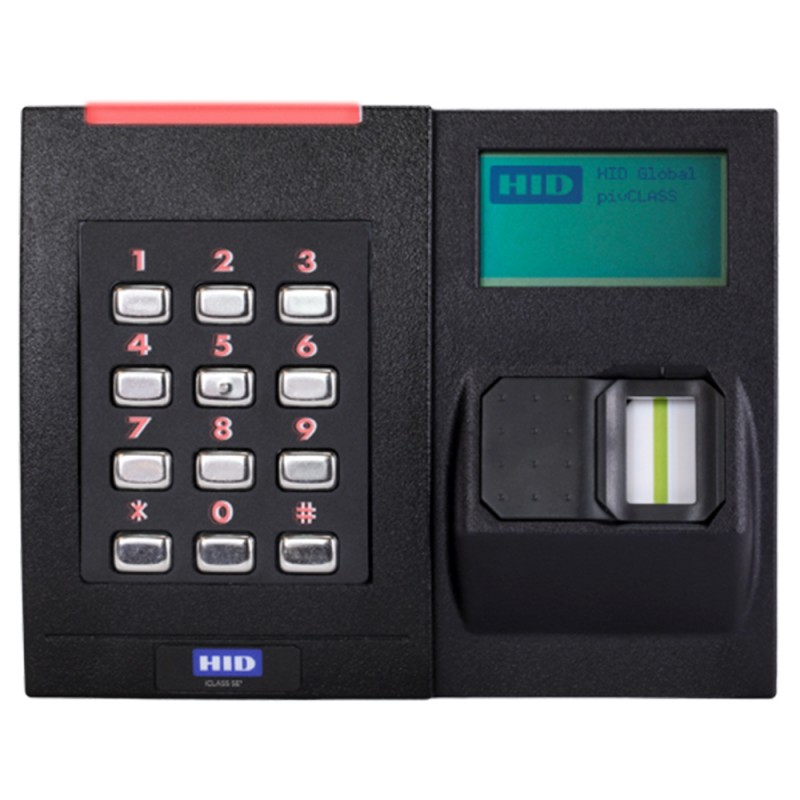 RKLB40 iCLASS SE Biometric Contactless Smart Card Kepad Reader