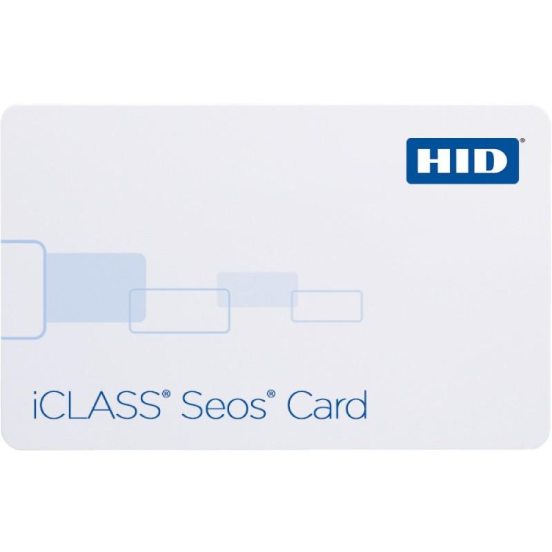 iCLASS Seos 8 KB + iCLASS 2k bit Tarjeta inteligente sin contacto