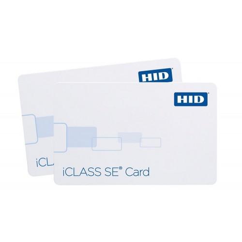 iCLASS SE Tarjeta inteligente sin contacto de 2 bits con 2 áreas de aplicación