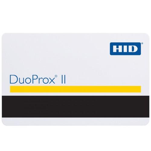 DuoProx® II 1336 Tarjeta de acceso de proximidad de PVC de calidad gráfica con banda magnética