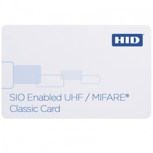 HID SIO Enabled (UHF + MIFARE Classic 4K) Contactless Credential