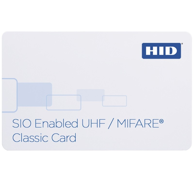 HID SIO Enabled (UHF + MIFARE Classic 4K) бесконтактная смарт карта