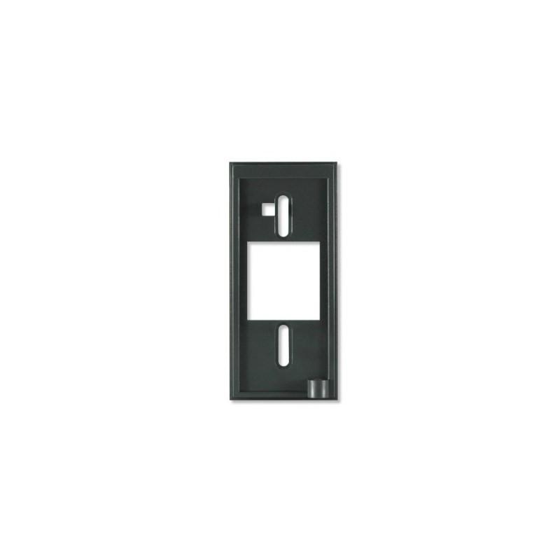 Rx10 - Espaciador del lector, inserto metálico de 12,7 mm (0,5 pulg.), negro