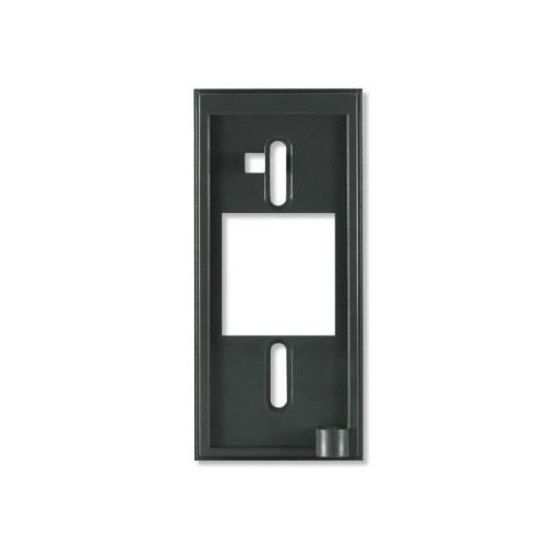 Rx15 - Espaciador del lector, inserto metálico de 12,7 mm (0,5 pulg.), negro