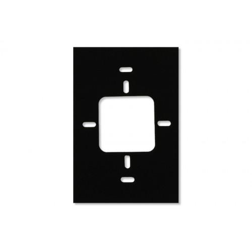 Rx40 - Монтажная подложка 12,7 мм (0,5 дюйма) металлическая вставка, черная