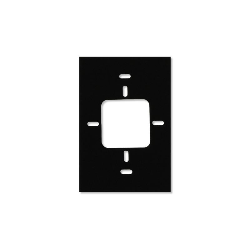 Rx40 - Reader Spacer, 12.7mm (0.5 in) Metallic Insert, Black