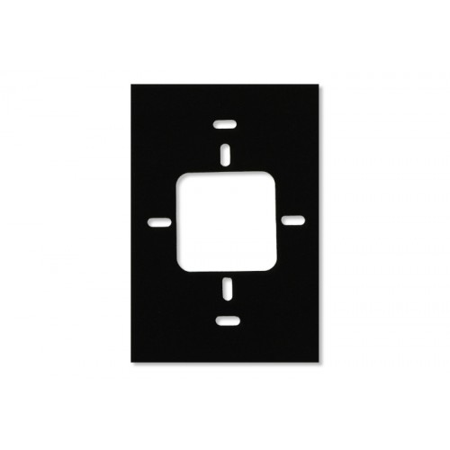 RKx40 - Espaciador del lector, inserto metálico de 12,7 mm (0,5 pulg.), negro