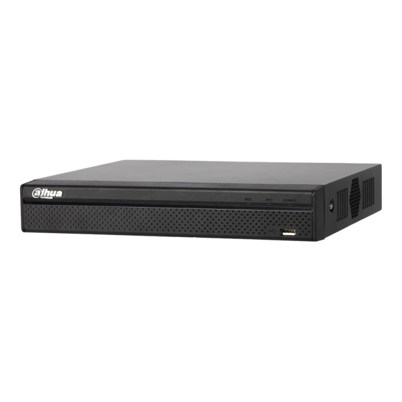NVR2108HS-8P-4KS2 – 8 Channel Compact 1U 8PoE Lite 4K H.265 Network Video Recorder