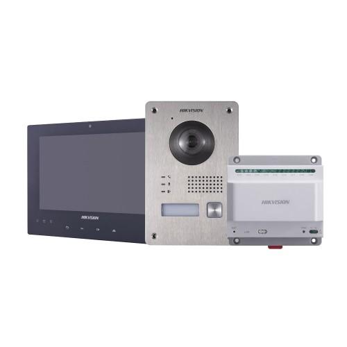 DS-KIS701 – Kit d'interphone vidéo à 2 fils