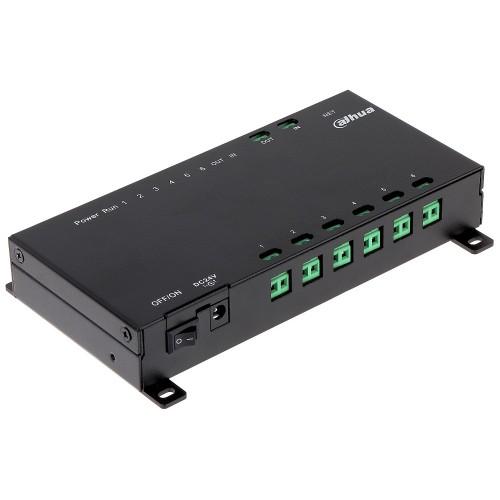 VTNS1006A-2 – 2-wire 6-port PoE switch