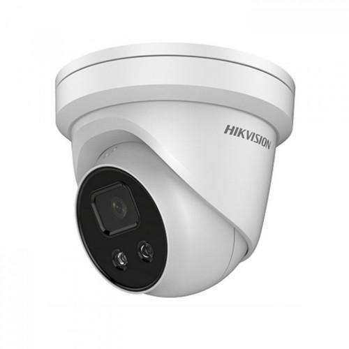 DS-2CD2346G1-I/SL – 4Мп AcuSense сетевая купольная камера с стробом и аудио сигналом тревоги 2.8MM