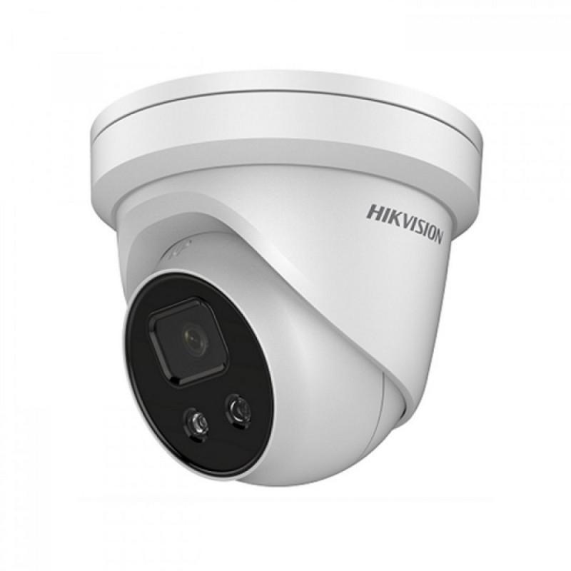 DS-2CD2346G1-I/SL – 4MP AcuSense Lumière stroboscopique et alarme sonore Caméra IP tourelle 2.8MM