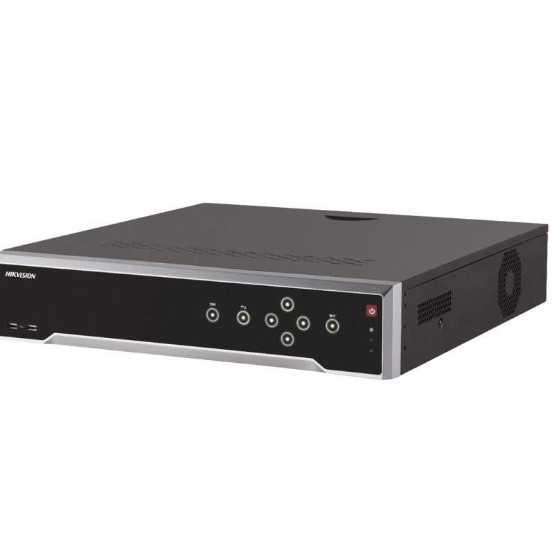 DS-7716NI-K4/16P – 16-ch 1.5U 16 PoE 4K Grabador IP