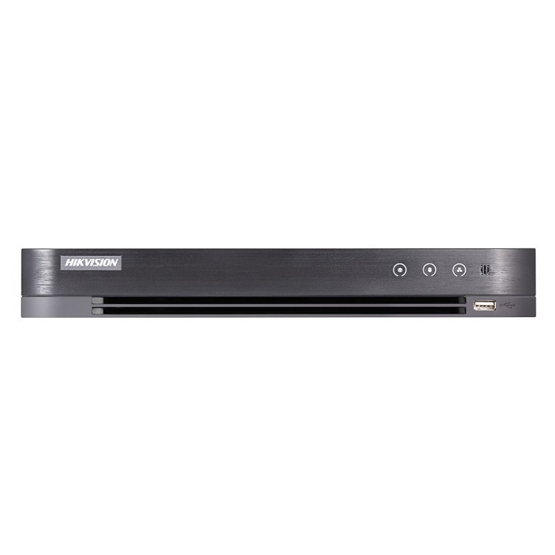 DS-7208HUHI-K2/P – 8 CH 5MP 1U H.265 PoC DVR