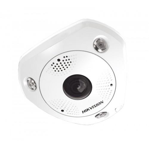 DS-2CD63C5G0-IS – 12MP (4K Ultra HD) IR Fisheye Cámara IP