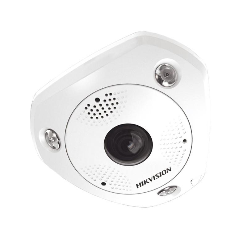 DS-2CD63C5G0-IS – 12Мп (4K Ultra HD) ИК Fisheye IP-камера