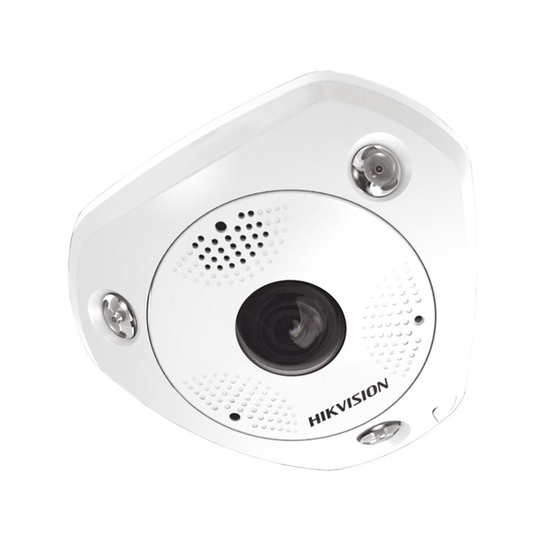 DS-2CD63C5G0-IVS – 12MP (4K Ultra HD) IR Network Fisheye Camera