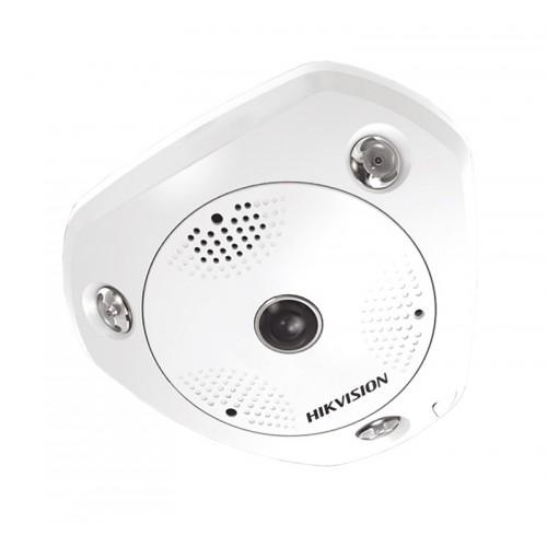 DS-2CD6362F-IS – 6MP IR Network Fisheye Camera
