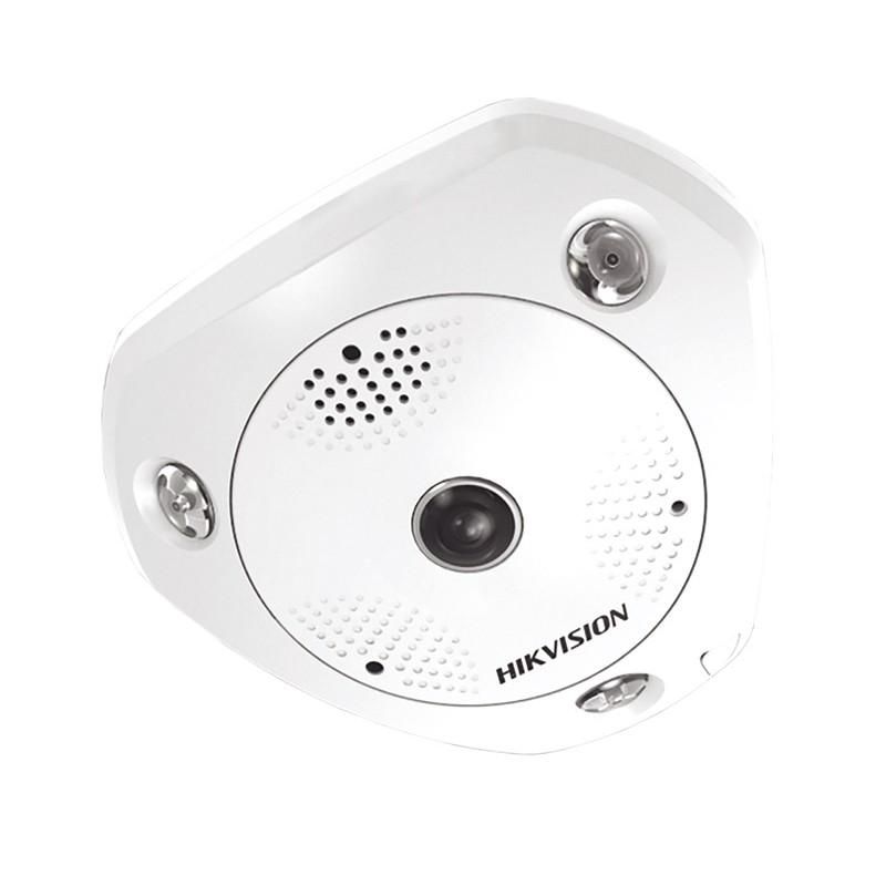 DS-2CD6362F-IS – 6Мп ИК Fisheye IP-камера