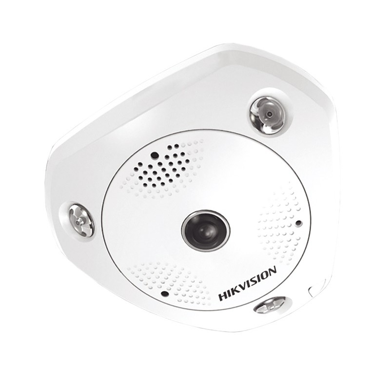 DS-2CD6362F-IVS – 6Мп ИК Fisheye IP-камера