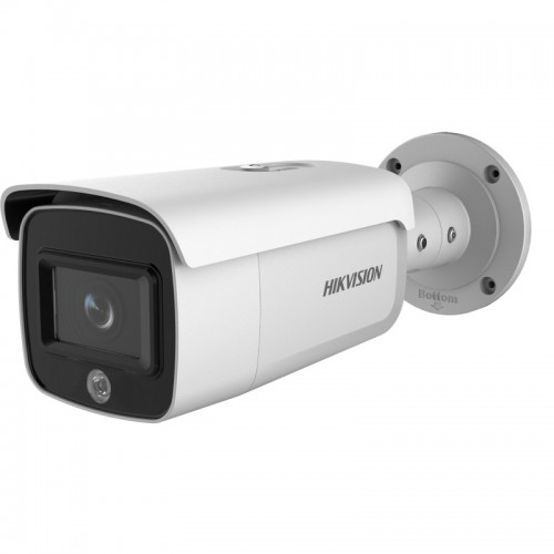 DS-2CD2T46G1-4I/SL – 4MP AcuSense Strobe Light and Audio Alarm Fixed Bullet Network Camera