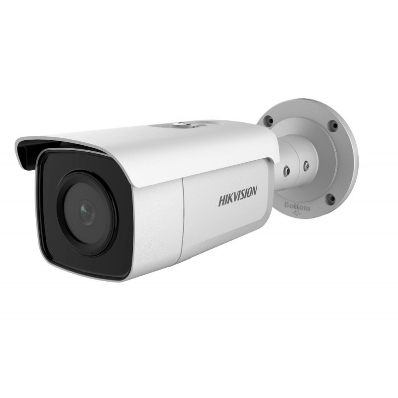 DS-2CD2T46G1-4I – 4Мп AcuSense сетевая цилиндрическая камера 4MM