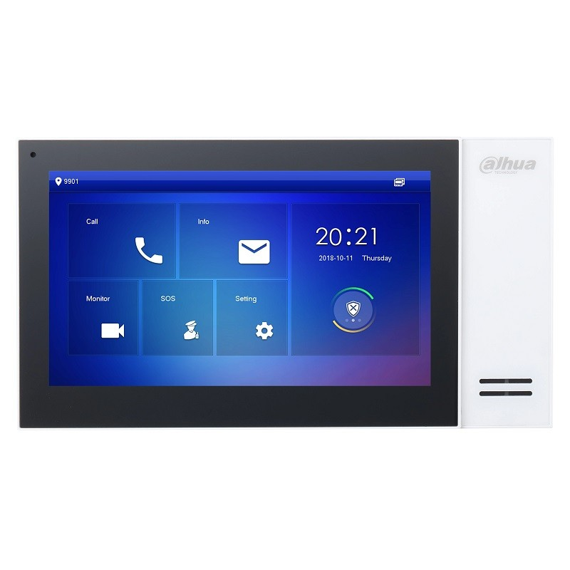"VTH2421FW-P – 7"" IP Indoor Monitor, PoE, White"