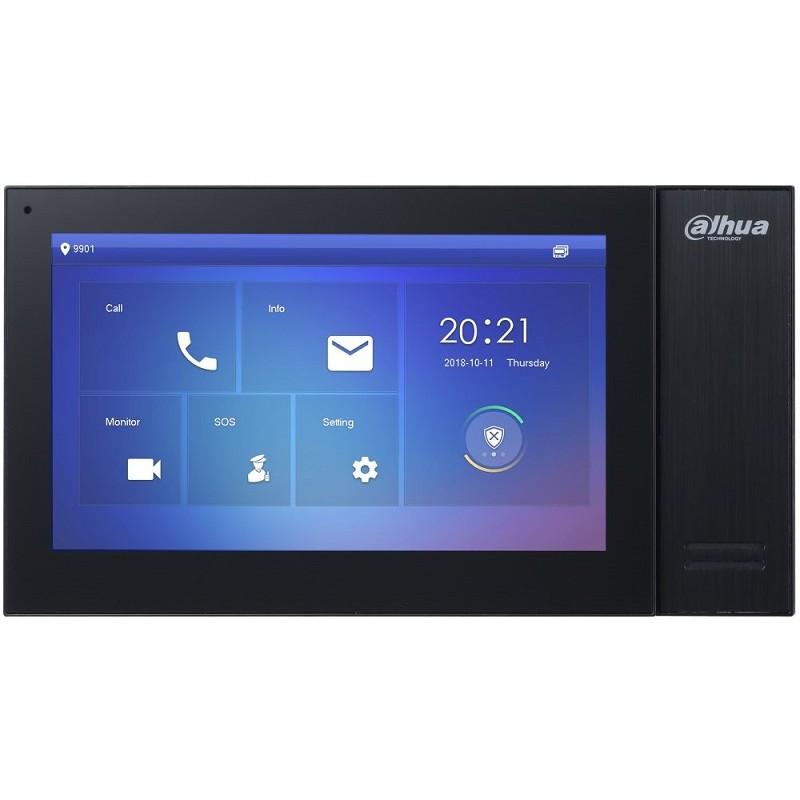 "VTH2421FB-P – 7"" IP Indoor Monitor, PoE, Black"