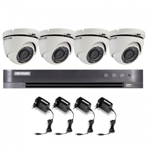 T42E28D – Hikvision 2MP Minidomo Turbo HD Kit