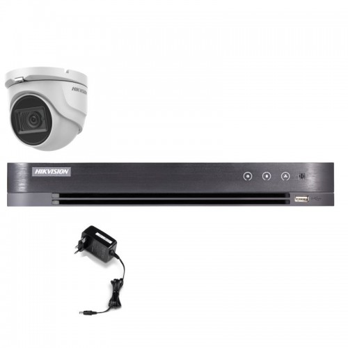 T15E28D – Hikvision 5MP Tourelle Turbo HD Kit
