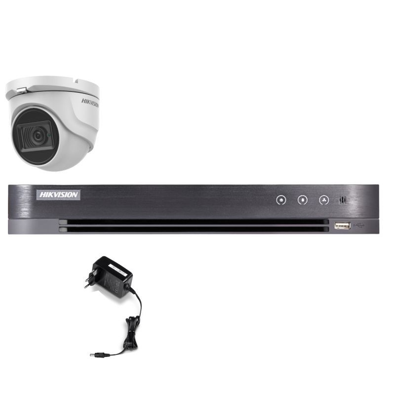 T15E28D – Hikvision 5MP Minidomo Turbo HD Kit