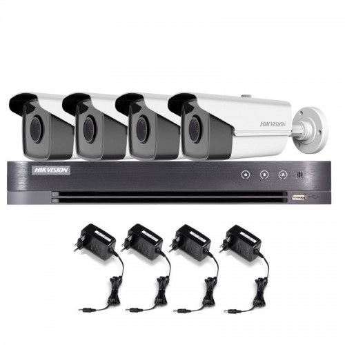T42E36B – Hikvision 2MP Tubular Turbo HD Kit