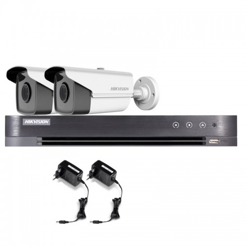 T22E36B – Hikvision 2MP Tubular Turbo HD Kit