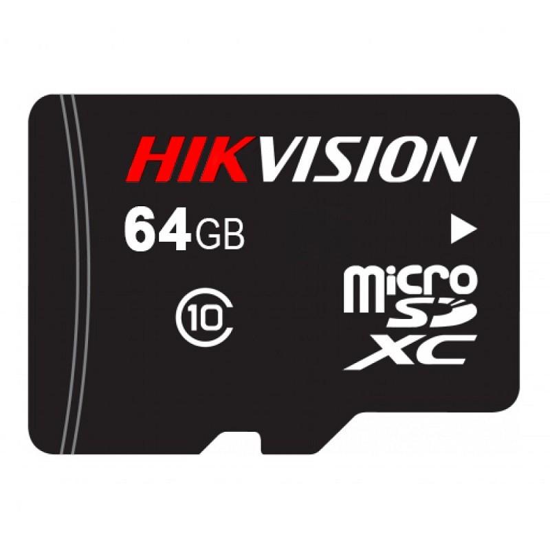 DS-UTF64G-L2 – Hikvision 64Gb tarjeta Micro Sd