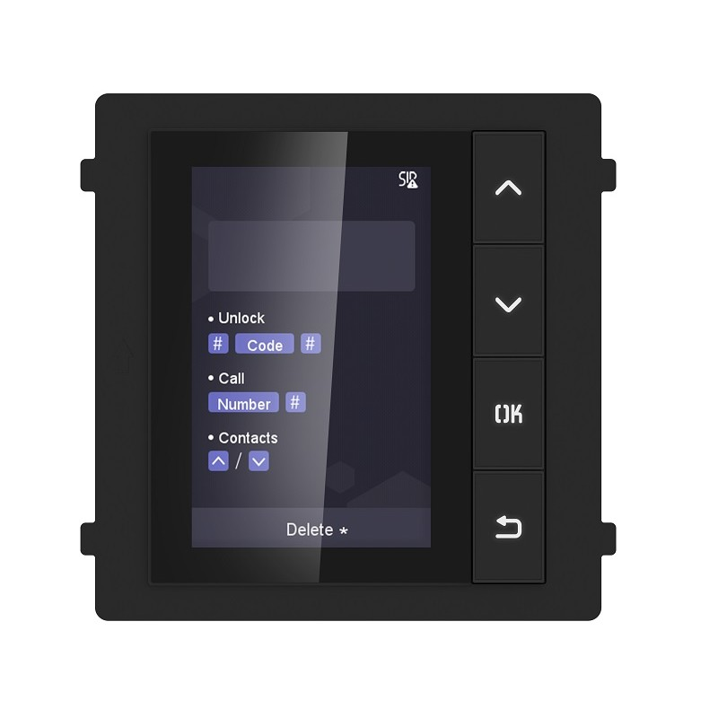 DS-KD-DIS Video Intercom Display Module