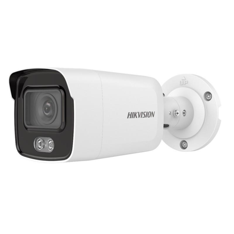 DS-2CD2047G1-L – 4MP ColorVu Mini caméra IP tube 4MM