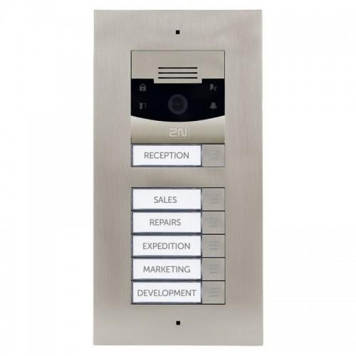 2N® IP Verso 5-кнопочный модуль 9155035