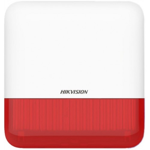 DS-PS1-E-WE – AX PRO Wireless external sounder (red)