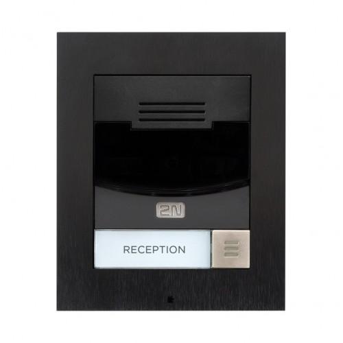 2N® IP Solo – Sans caméra, Installation sur le mur 9155301BS (noir)
