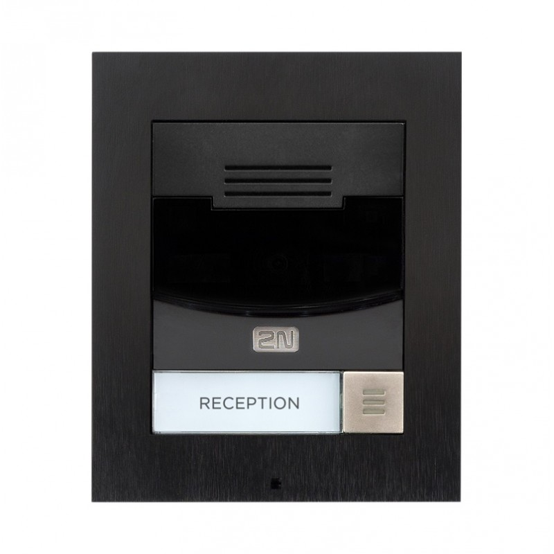 2N® IP Solo – Sin cámara, Montaje superficial 9155301BS (negro)
