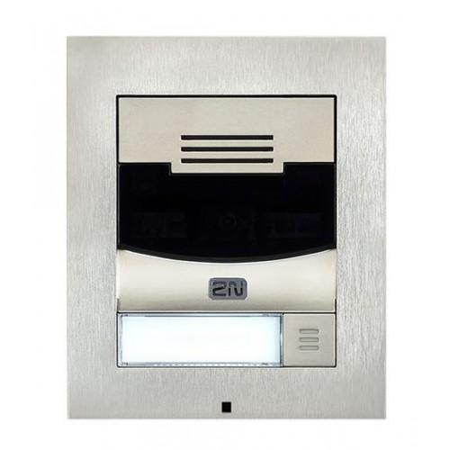 2N® IP Solo – Sans caméra, Installation sur le mur 9155301S (nickel)