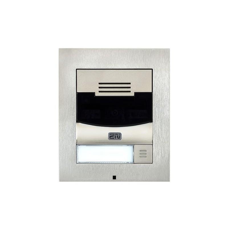 2N® IP Solo – Без камеры, Поверхностный монтаж 9155301S (никель)