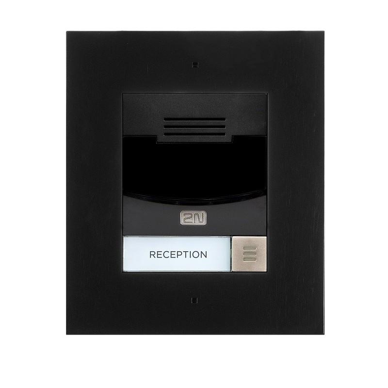 2N® IP Solo – Sin cámara, Montaje empotrado 9155301BF (negro)