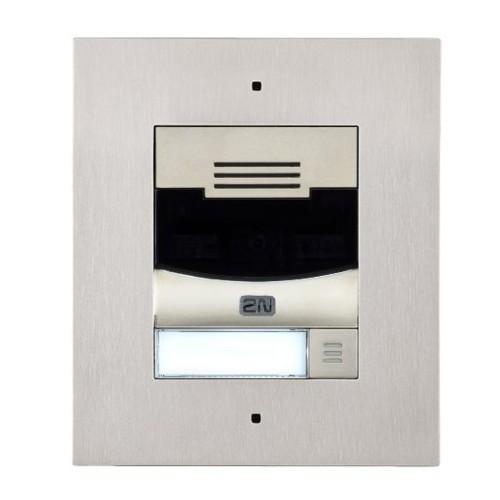 2N® IP Solo – Sans caméra, Installation dans le mur 9155301F (nickel)