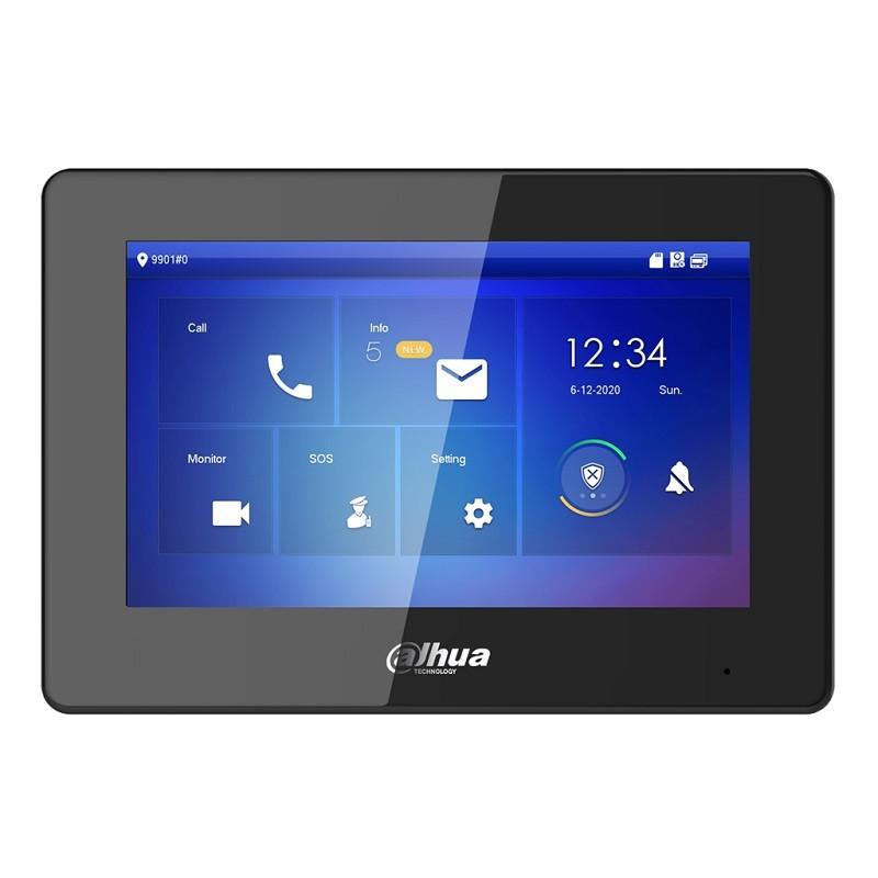 """VTH5421HB – 7"""" Monitor interior IP, negro"""