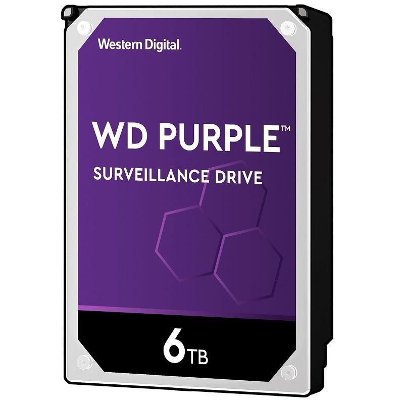 Western Digital Purple HDD, 6 TB