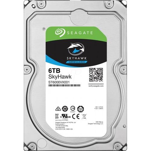 Seagate Skyhawk HDD, 6 TB
