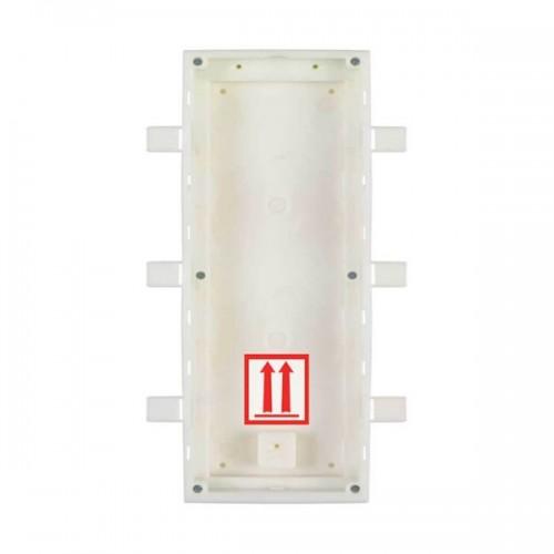 2N® IP Verso Boîte d'encastrement pour 3 modules 9155016